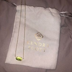 Kendra Scott peridot necklace! $40